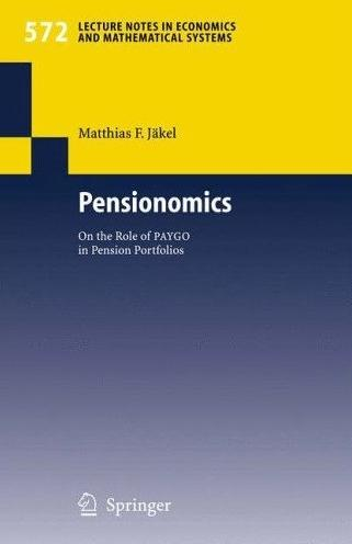 Pensionomics: On The Role Of Paygo In Pension Portfolios