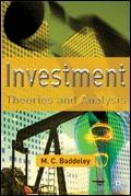 Investment. Theories And Analysis.