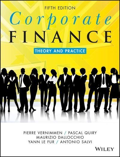 "Corporate Finance ""Theory and Practice"""