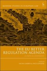 "The EU Better Regulation Agenda ""A Critical Assessment """