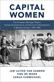 "Capital Women ""The European Marriage Pattern, Female Empowerment and Economic Development in Western Europe 1300-1800"""