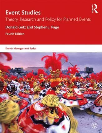 "Event Studies ""Theory, Research and Policy for Planned Events"""
