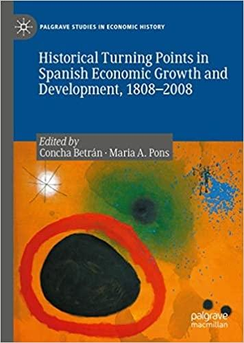 Historical Turning Points in Spanish Economic Growth and Development, 1808-2008